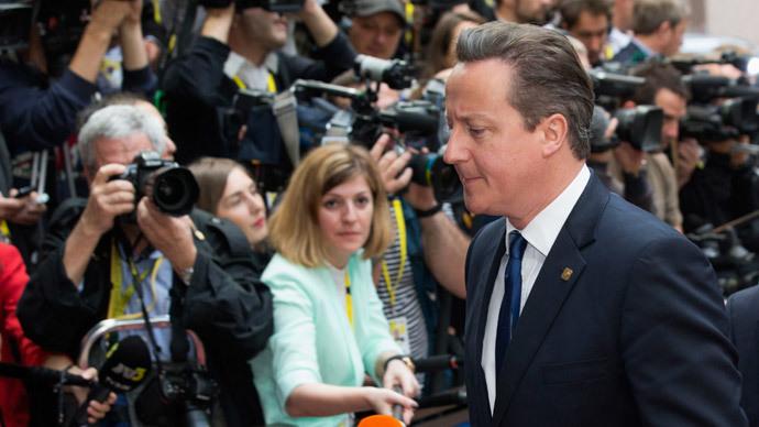 Britain's Prime Minister David Cameron.(Reuters / Philippe Wojazer)