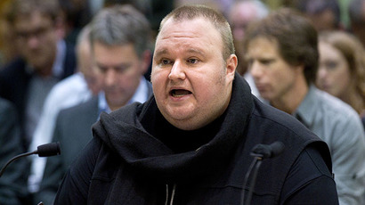 Megaupload founder Kim Dotcom (AFP Photo / Marty Melville)