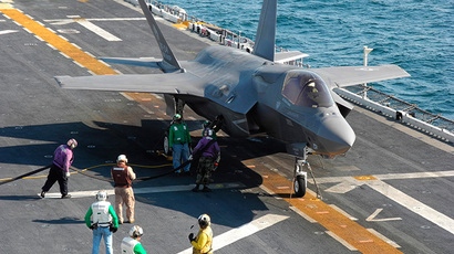 Grounded future: Pentagon still bets on plagued F-35s