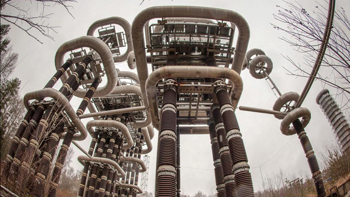 Electrifying: Giant futuristic 'Tesla Tower' in abandoned woods near Moscow (PHOTOS, VIDEO)