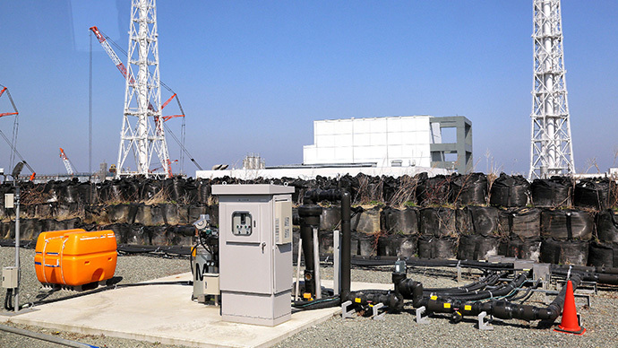 Facility to pump up underground water at the Tokyo Electric Power CO (TEPCO) Fukushima Dai-ichi nuclear power plant at Okuma town in Fukushima prefecture (AFP Photo / Japan Pool via Jiji Press Japan out)