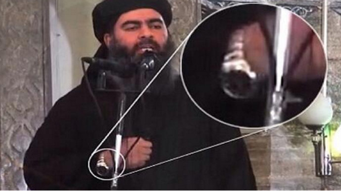 Bond bling? ISIS leader flaunts flashy wristwatch, sparks online mockery
