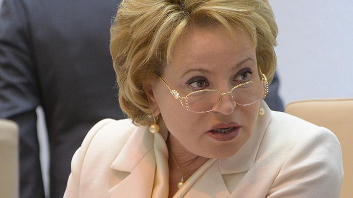 Chair of the Federation Council Valentina Matviyenko (RIA Novosti / Vladimir Fedorenko)