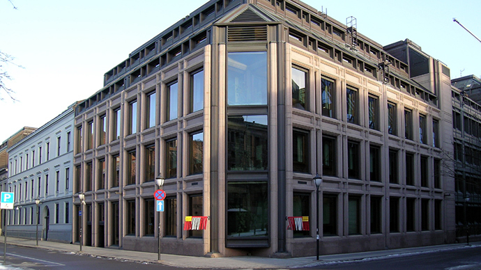 Norges Bank (Image from wikipedia.org)