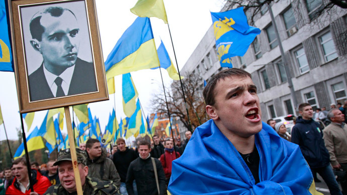 MPs in Western Ukrainian Lvov demand Poroshenko reinstate Nazi collaborators as national heroes