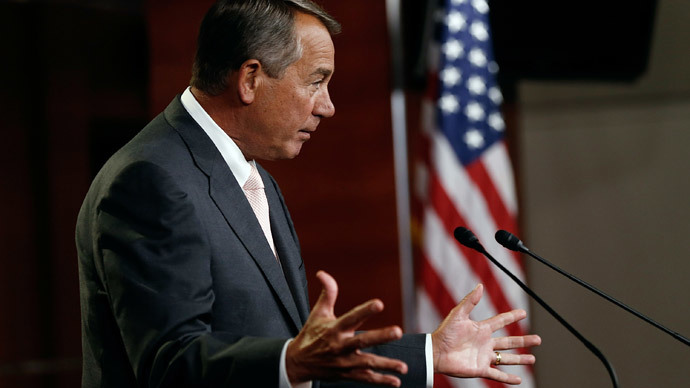 U.S. Speaker of the House John Boehner.(AFP Photo / Win McNamee)