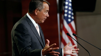 Speaker Boehner gets Congress approval to sue President Obama