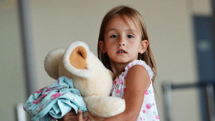 Ukraine urges Russia not to accept orphans fleeing war zones