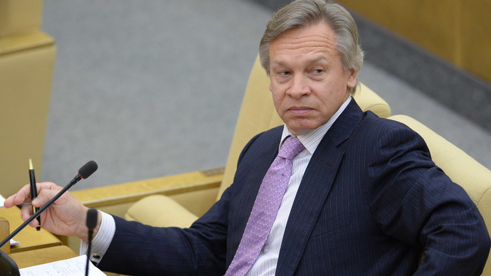 Top parliamentarian vows to thwart US plans to isolate Russia