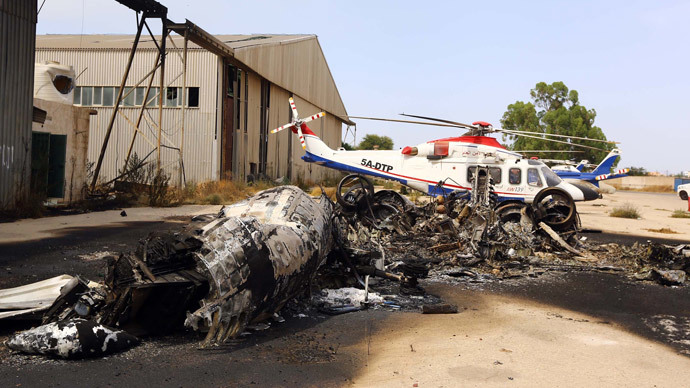 90% of aircraft destroyed at Tripoli airport, Libya may seek international assistance