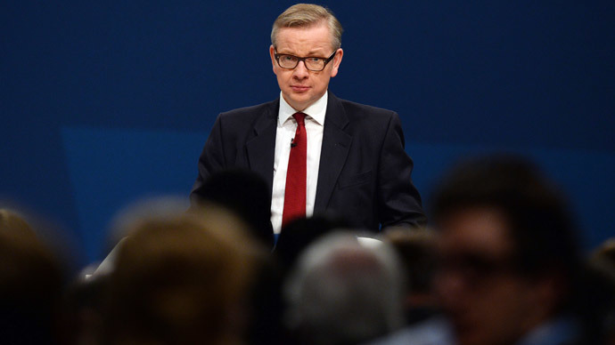 Michael Gove (AFP Photo / Paul Ellis)