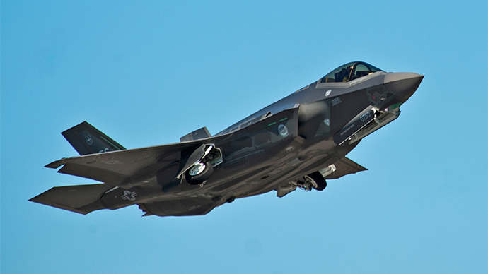 An F-35A Lightning II Joint Strike Fighter (Reuters / Randy Gon)