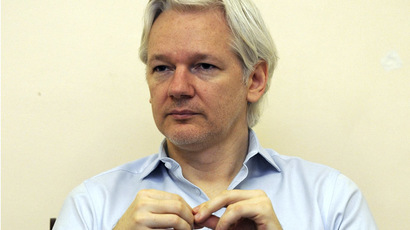 Wikileaks founder Julian Assange (Reuters/Anthony Devlin)