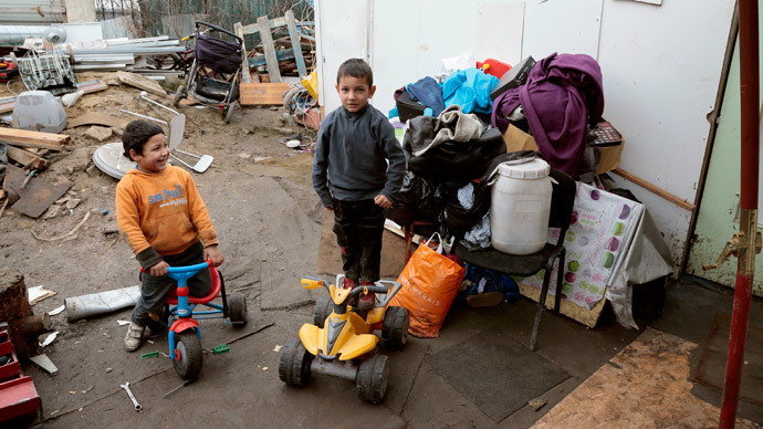 Belgian town deploys loud music to drive Roma caravans out