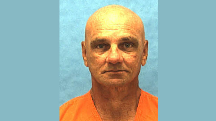 Paul Hildwin is pictured in this undated handout photo courtesy of Florida Department of Corrections (Reuters)