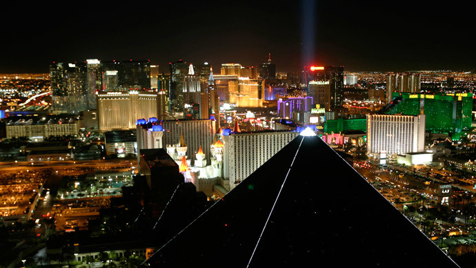 Las Vegas Strip.(Reuters / Richard Brian)