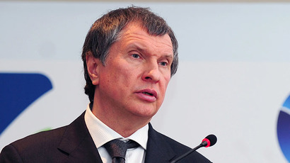 Igor Sechin (AFP Photo / Mustafa Ozer)