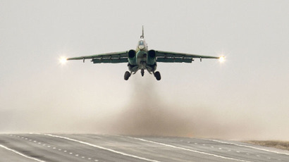 Sukhoi Su-25 jet fighter (Reuters / Vasily Fedosenko)