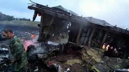 Gruesome images of Malaysia MH17 plane crash in east Ukraine appear online