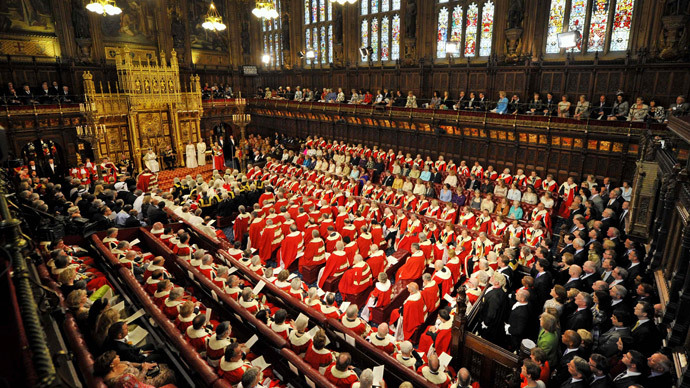 House of Lords in London.(AFP Photo / Toby Melville)
