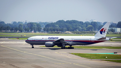 An aircraft of Malaysian Airlines flight MH017 departs from Schiphol Airport The Netherlands, to Kuala Lumpur, on July 2014, a day after a Malaysian Airlines flight crashed in eastern Ukraine with 298 people onboard, among them 173 Dutch passengers (AFP Photo)