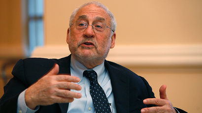 Nobel Laureate in economics and former World Bank chief Joseph Stiglitz (Reuters / Ana Martinez)