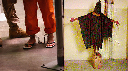 Guantanamo and Abu Ghraib (AFP Photo / John Moore / wikipedia.org)