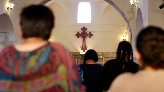Convert, pay or die: Iraqi Christians flee Mosul after Islamic State ultimatum
