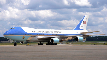 Air Force One (Reuters / Jonathan Ernst)