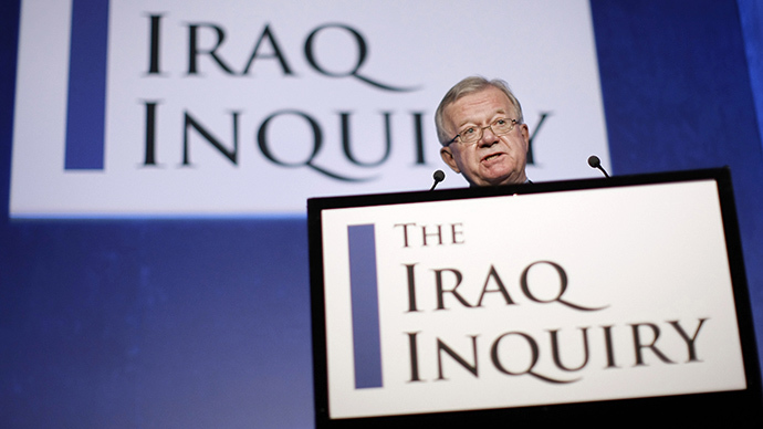 Sir John Chilcot, Chair of the Iraq Inquiry, faces criticism relating to the investigation's lack of transparency. (AFP Photo / Matt Dunham)