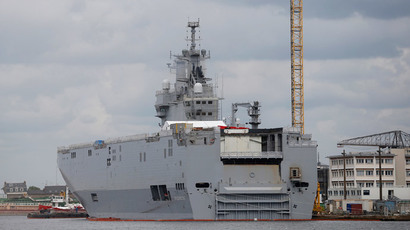 France hits back after UK condemns Russia Mistral ship deal