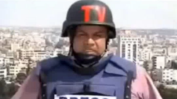 Heartrending Gaza: Reporter breaks into tears live on air (VIDEO)