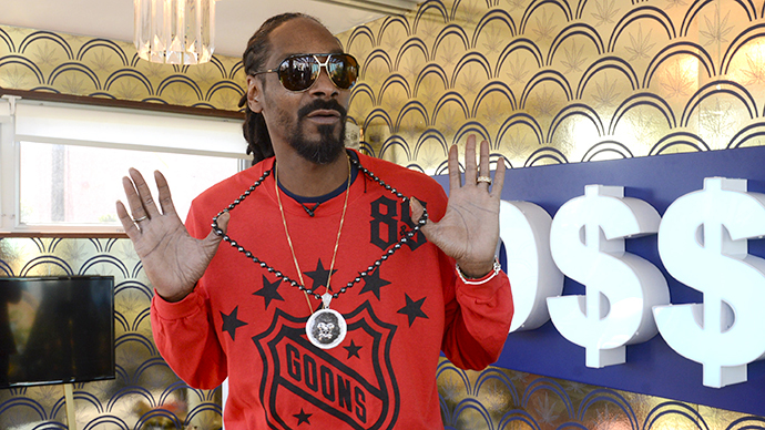 Snoop Dogg (AFP Photo / Getty Images / Vivien Killilea)
