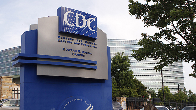 The Centers for Disease Control sign is seen at its main facility in Atlanta (Reuters / Tami Chappell)