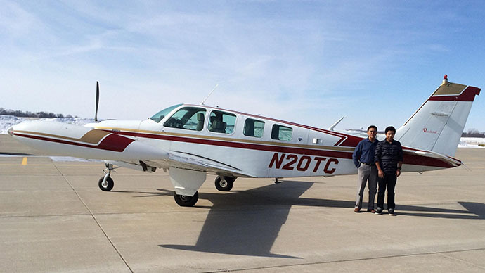 Father-son bid to pilot aircraft around the world ends in tragedy