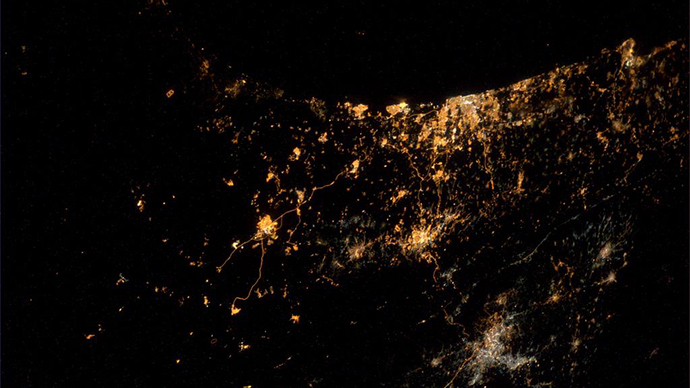 ​'Saddest photo yet': Astronaut photographs Gaza offensive from space