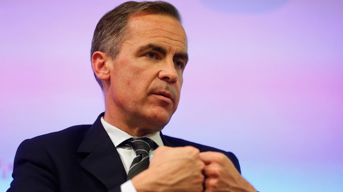 Bank of England Governor, Mark Carney, says a rise in interest rates are imminent. (Reuters / Sang Tan)