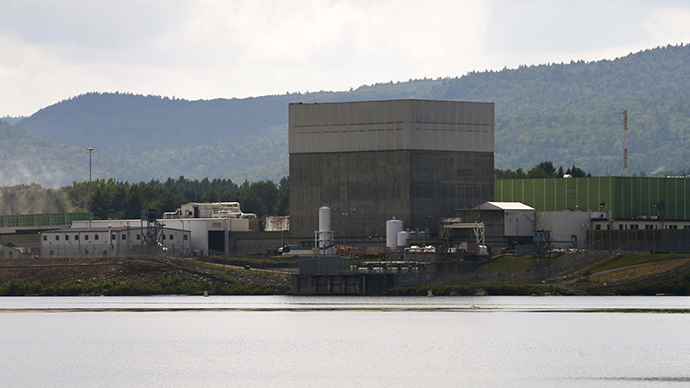 The Vermont Yankee nuclear power plant in Vernon, Vermont. (Reuters / Brian Snyder)