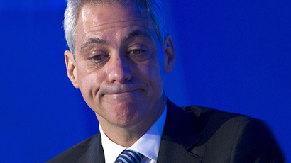 Chicago Mayor Rahm Emanuel (AFP Photo / Mandel Ngan)