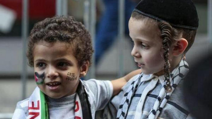 Jews and Arabs refuse to be enemies: Social media campaign goes viral (PHOTOS)
