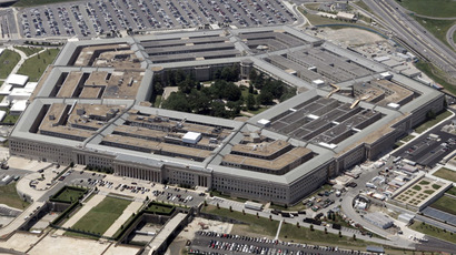 An aerial view of the Pentagon building in Washington (Reuters/Jason Reed)
