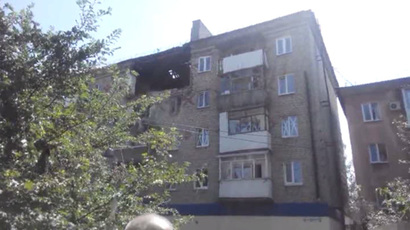 Kiev shells Ukraine Orthodox Church compound in Gorlovka