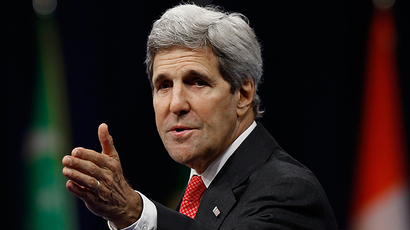 U.S. Secretary of State John Kerry (AFP Photo / Win McNamee)