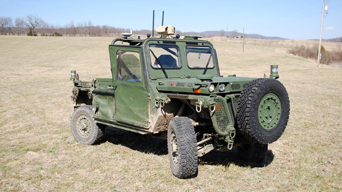 US Marines perfecting autonomous evacuation and supply vehicle