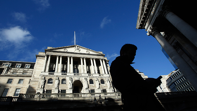 Bank of England in the City of London (Reuters / Luke MacGregor)