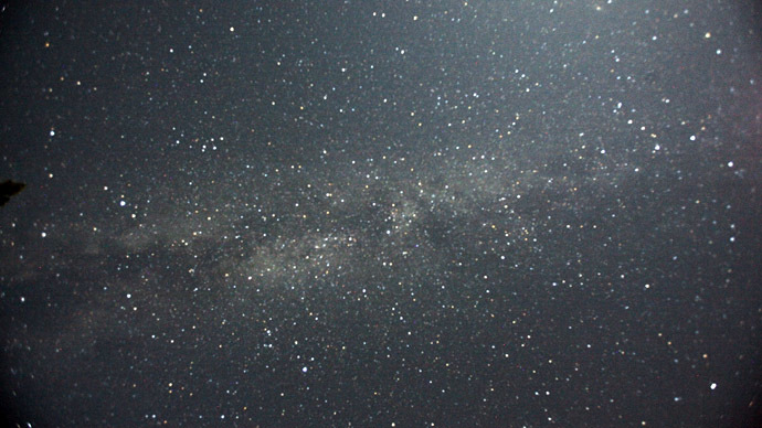 The Milky Way galaxy (Reuters/Mario Anzuoni)