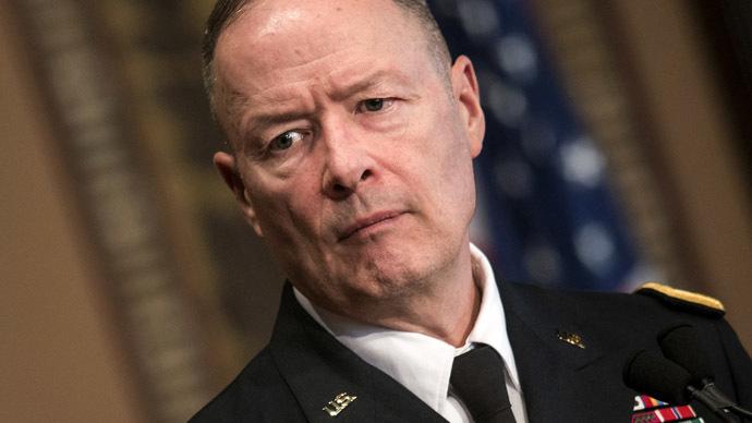 General Keith Alexander (AFP Photo/Brendan Smialowski)