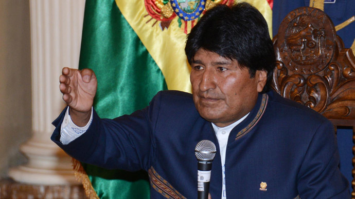 The President of Bolivia Evo Morales (AFP Photo)