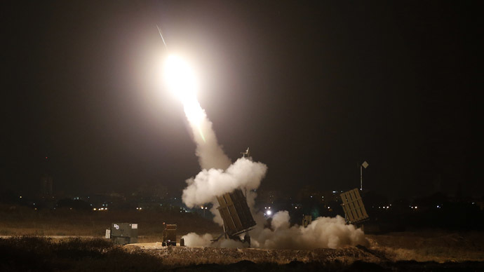 An Iron Dome launcher (Reuters/Baz Ratner)