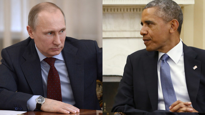 Putin tells Obama sanctions 'counter-productive,' both agree dialogue required